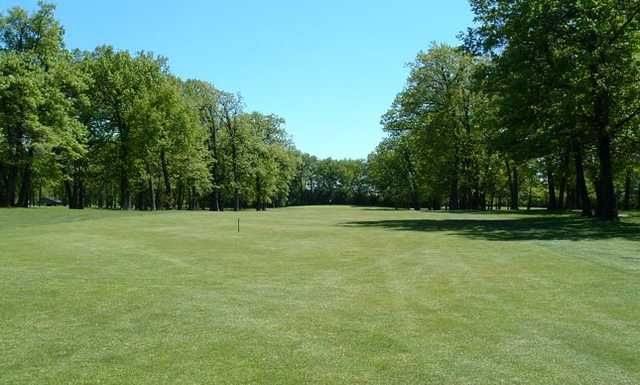 View of the 14th fairway at Foss Park Golf Course