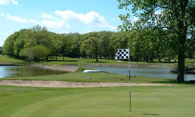 View of the 17th hole at Foss Park Golf Course