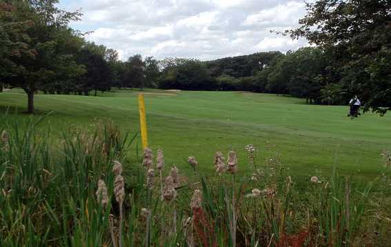 A view of fairway #14 at Scraptoft Golf Club