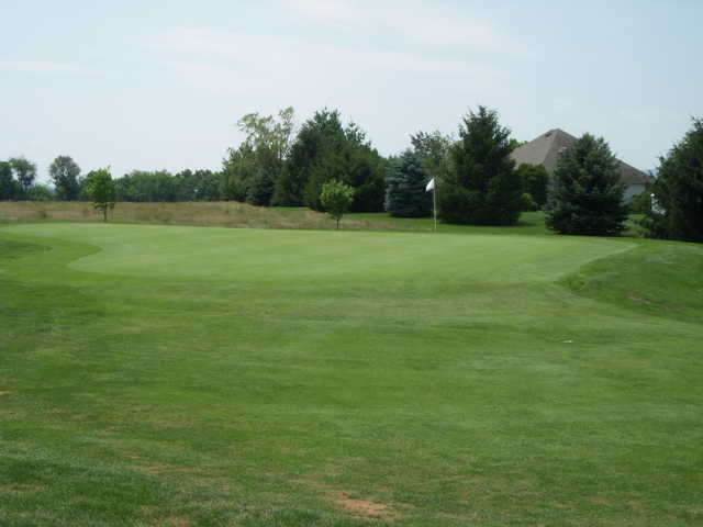 View of a green at Mayapple Golf Links