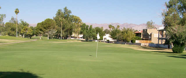 View of a green at Chaparral Country Club