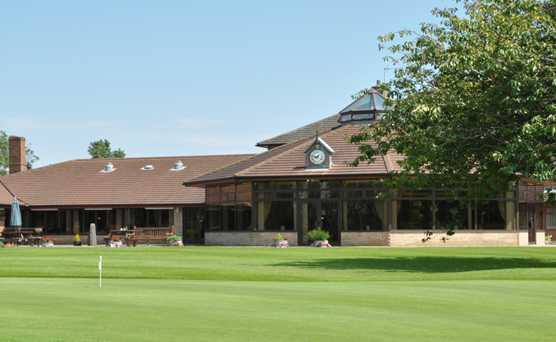 A view of the clubhouse at Grimsby Golf Club