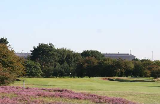 A view from fairway #11 at Holme Hall Golf Club