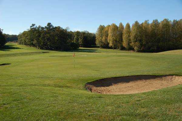 A view of the 15th green at Kenwick Park Golf Club