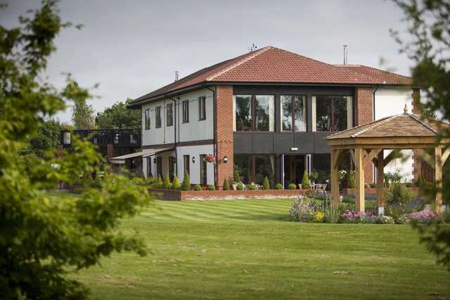 A view of the clubhouse at Laceby Manor Golf Club