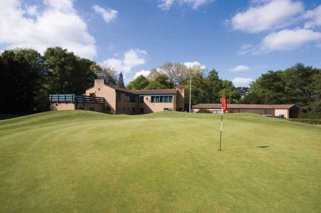 The clubhouse at Normanby Hall Golf Course