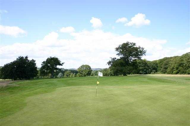 A view of hole #5 at Stoke Rochford Golf Club