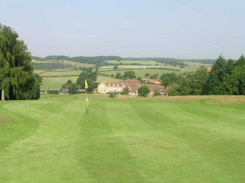 A view of a hole at Toft Country House Hotel & Golf Club