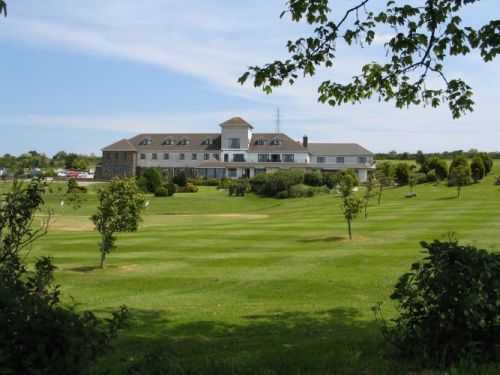 A view of the clubhouse at Bowood Park Hotel & Golf Club