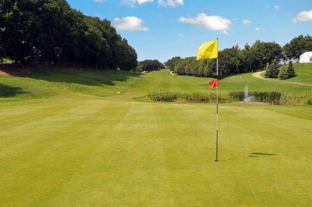 A view of a green at Bawburgh Golf Club