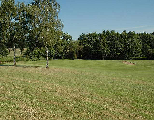 A view from fairway #2 at Costessey Park Golf Club