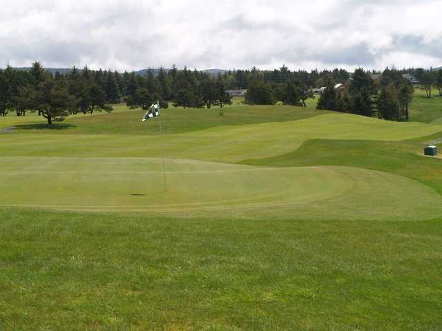 View of the 3rd hole at Crestview Golf Club