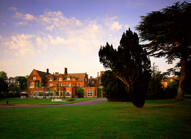 A view of the clubhouse at Marriott Sprowston Manor Country Club