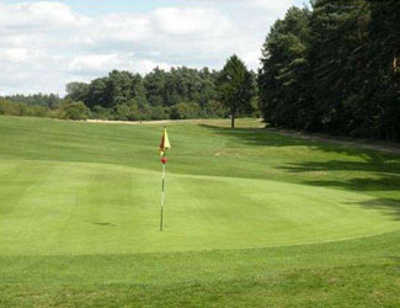 A view of the 11th hole at Swaffham Golf Club