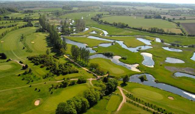 Aerial view from Wensum Valley Hotel, Golf & Country Club