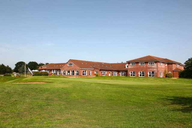 A view of the clubhouse at Wensum Valley Hotel, Golf & Country Club