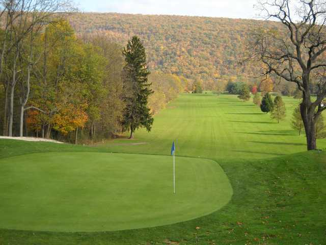 Autumn view of a green at American Legion Country Club