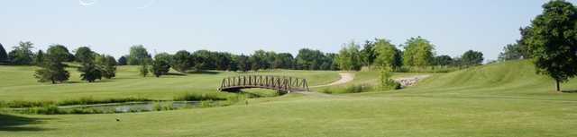 Panoramic view from Tuckaway Golf Course