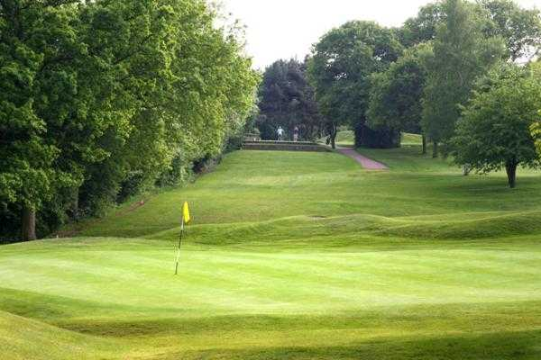 A view of the 12th hole at Harrogate Golf Club
