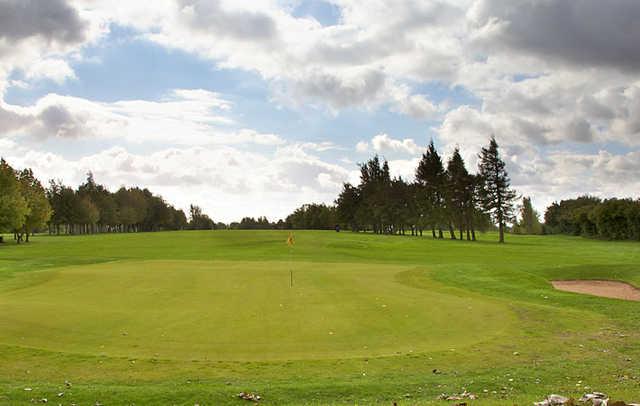 A view of hole #14 at Knaresborough Golf Club