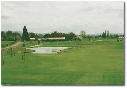 Quail Valley #14: If you can't see the hazards on this hole, you need glasses. Your tee shot is the least of your problems. It's the approach shot you need to think about. Water comes into play wherever you are. You have two choices, lay up in the right f