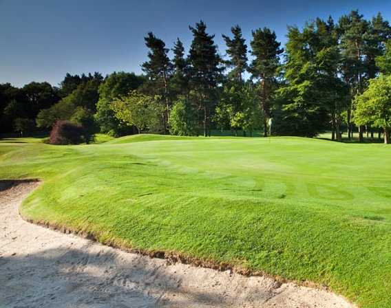A view of hole #7 at Pannal Golf Club