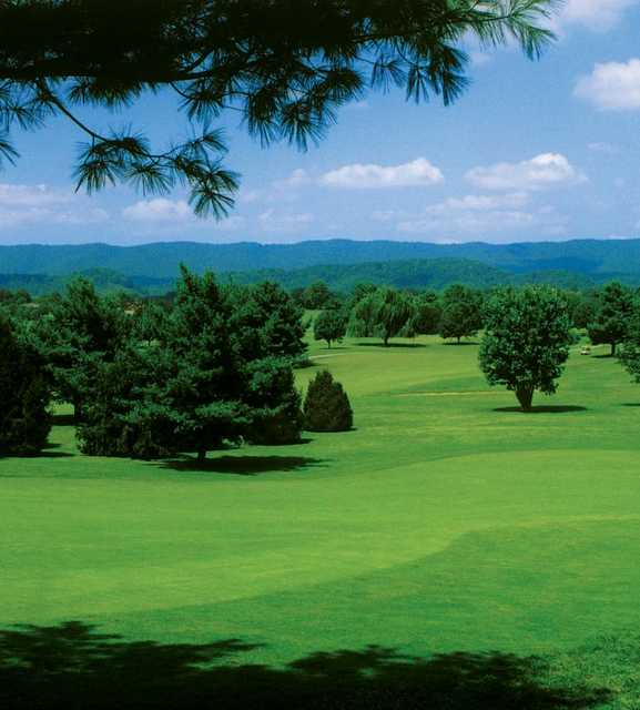 View from Clinchview Golf Club