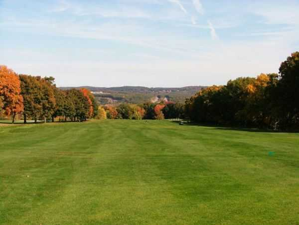View of a fairway at Green Hill Golf Club