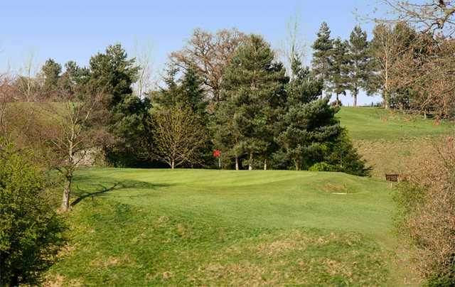 A view of the 5th green at Ripon City Golf Club
