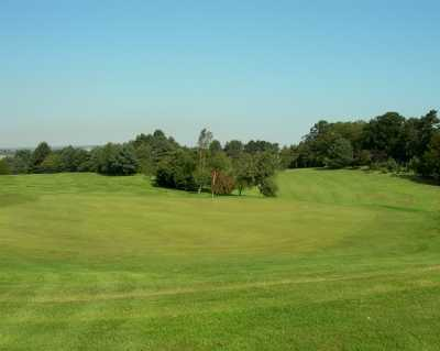 A view of green #12 at Scarborough North Cliff Golf Club