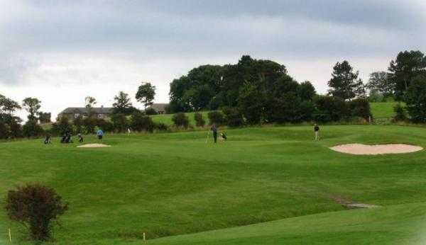 A view of the 12th green at Whitby Golf Club