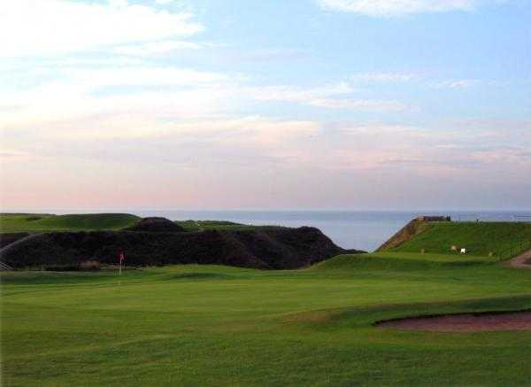 A view of hole #17 at Whitby Golf Club