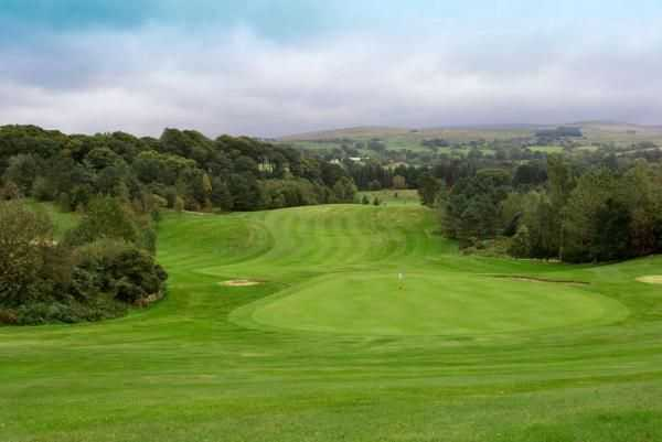 View down to the 9th at Brampton Golf Club