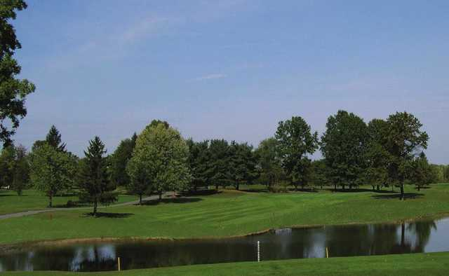 A view from Knoll Run Golf Course