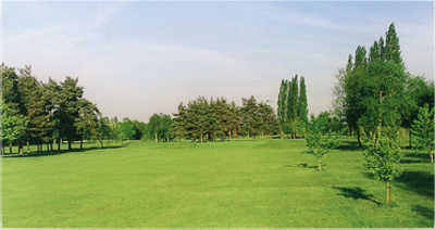 A view of the 17th fairway at Kettering Golf Club