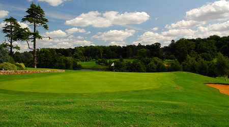 A view of green #18 at Northampton Golf Club