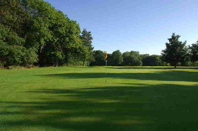 A view of the 3rd hole at Overstone Park Golf Club
