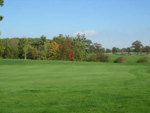 A view of a hole at Whittlebury Park Golf & Country Club