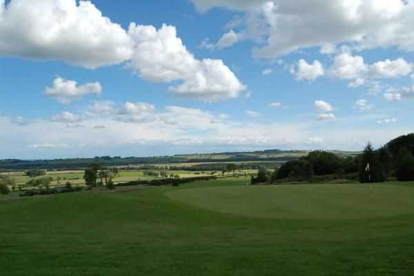 A view of the 12th hole at Alnwick Castle Golf Club