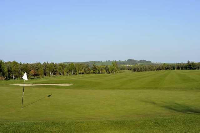 A view of a hole at Burgham Park Golf & Leisure Club