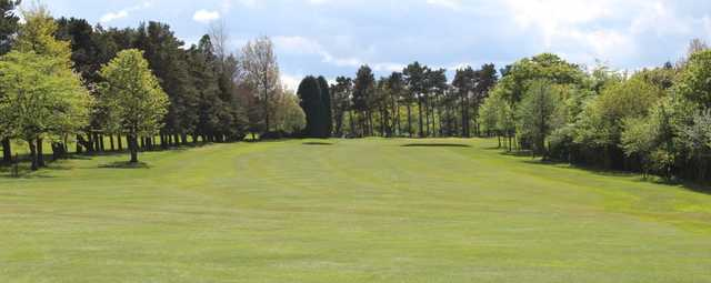 A view of green #6 at Morpeth Golf Club
