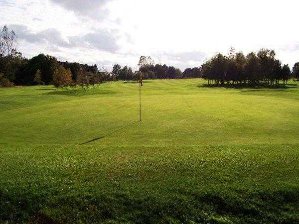 A view of the 12th hole at Morpeth Golf Club