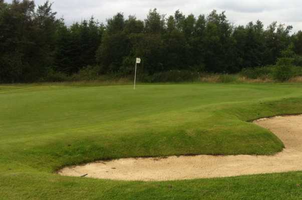A view of the 11th green at Percy Wood Golf & Country Retreat
