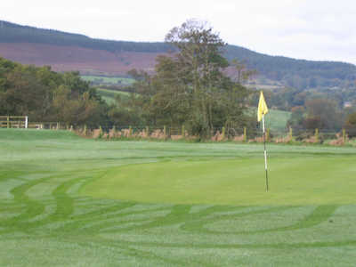 A view of hole #12 at Rothbury Golf Club