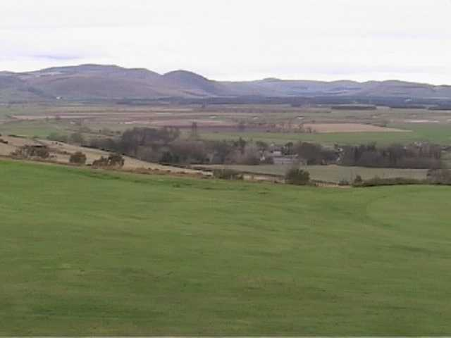 A view from Wooler Golf Club
