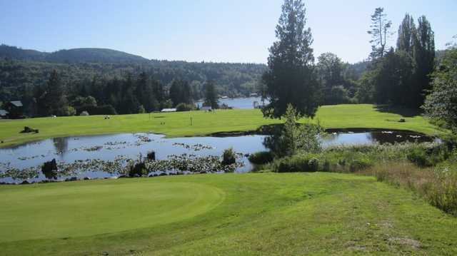 A view from Overlook Golf Course