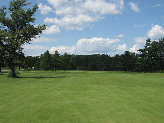 View of a green from the Beeson 9 at Winchester Golf Club