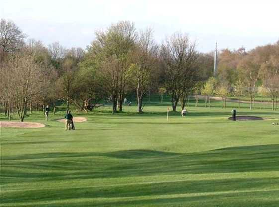 A view from a fairway at Bulwell Forest Golf Club