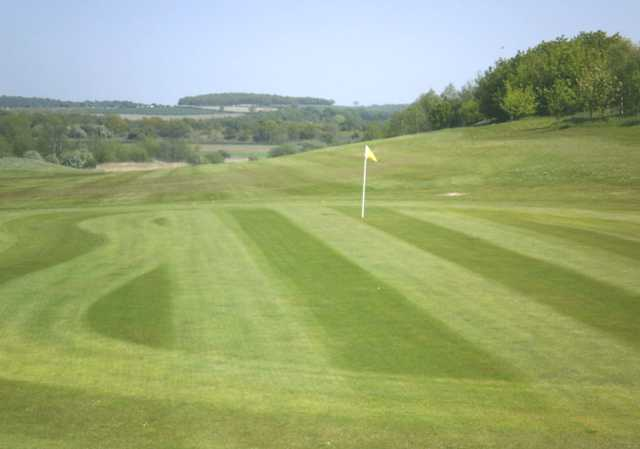 A view of the 5th hole at Leen Valley Golf Club
