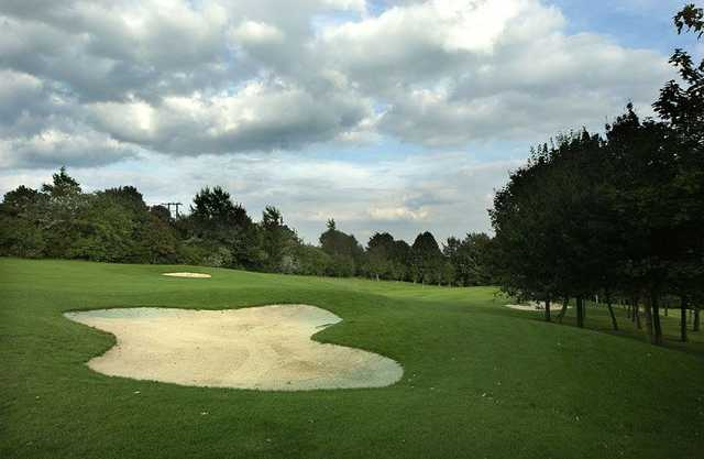 A view of the 5th fairway at Mapperley Golf Club